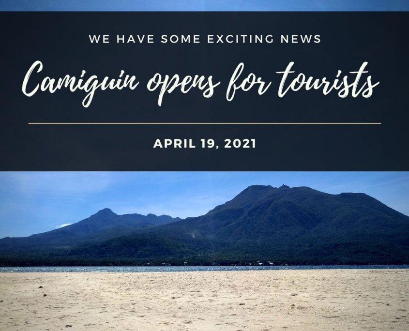 Camiguin öffnet für Touristen